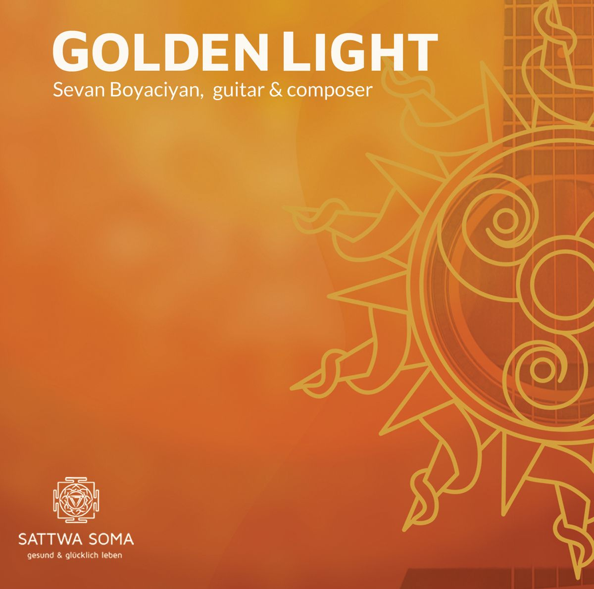 Golden Light CD, Cover